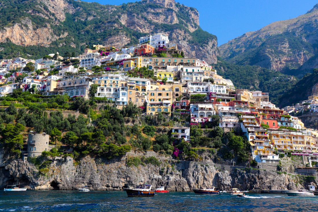 The Amalfi Coast shot by Eva Amurri Martino