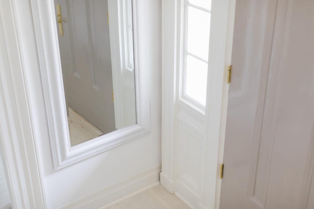 The entry way of Eva Amurri Martino's new Connecticut home