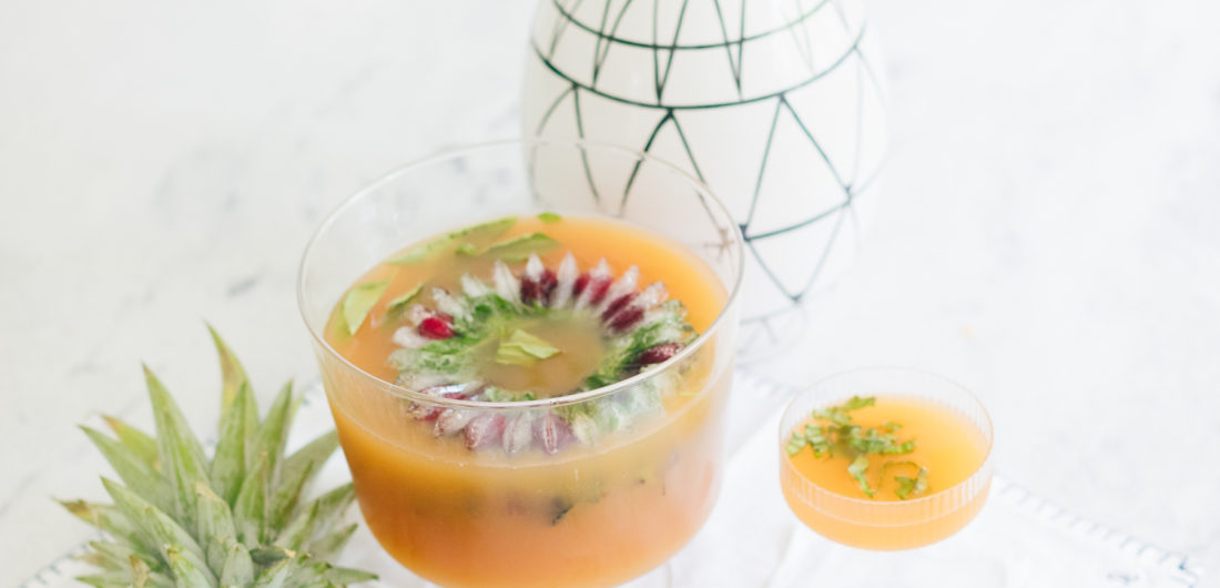 A summer punch cocktail created by Eva Amurri Martino