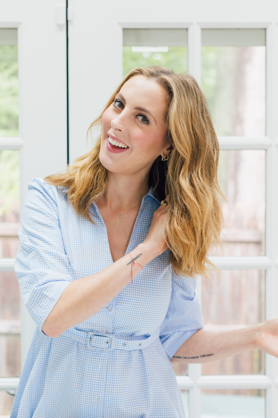 Eva Amurri Martino shares her favorite Triple Threat Split End Remedy from Rita Hazan