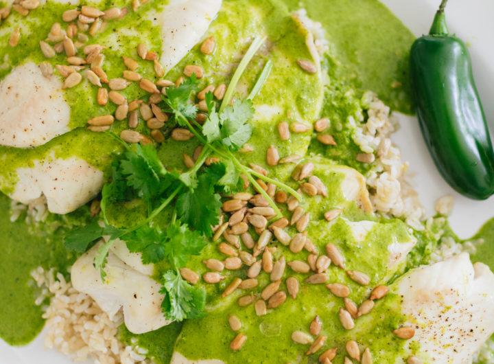 Eva Amurri Martino's Buster's Famous Green Fish Recipe