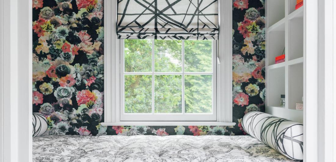 The snuggle nook inside Eva Amurri Martino's Connecticut home