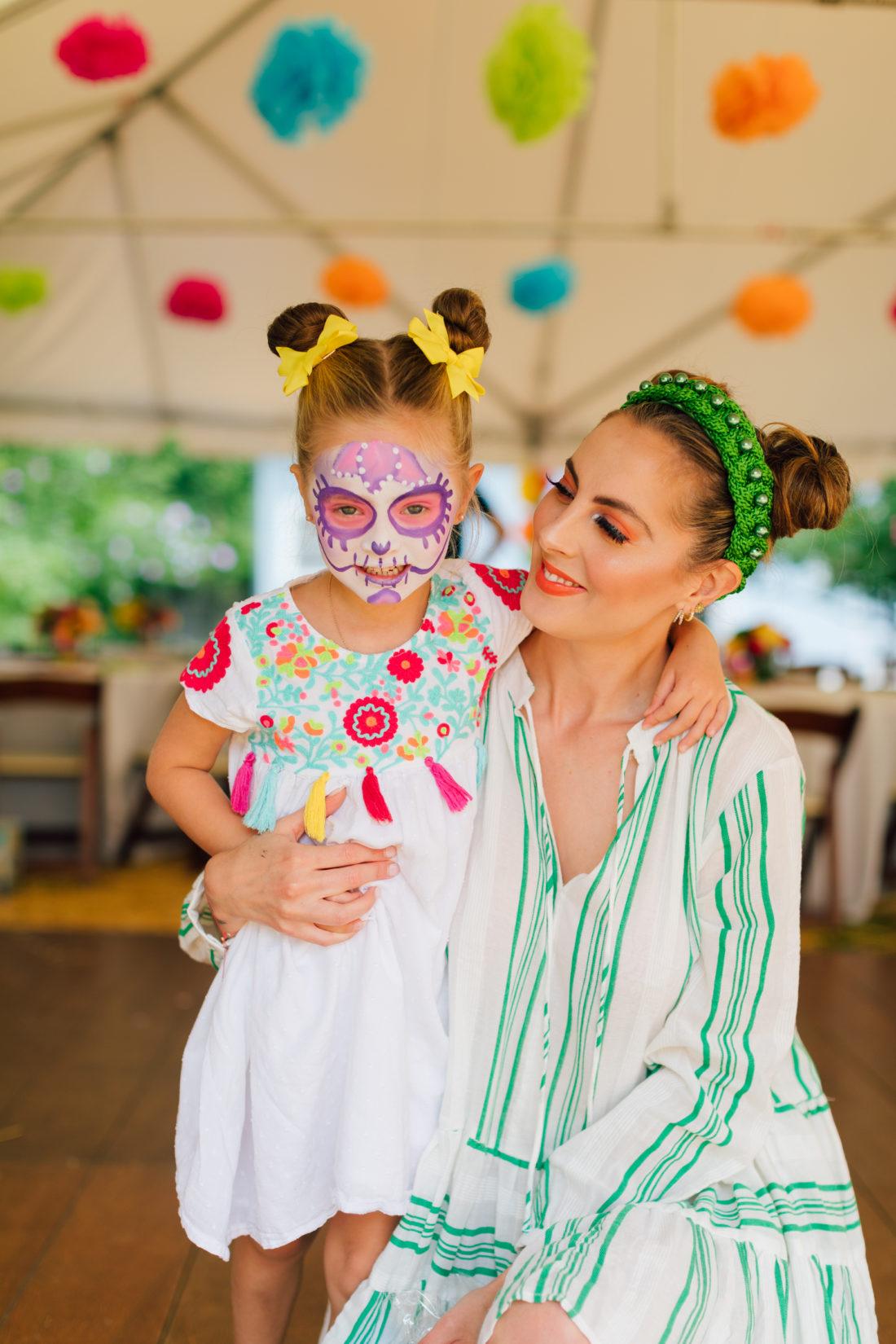 Eva Amurri Martino with daughter Marlowe at her Cinco de Marlowe themed 5th birthday fiesta