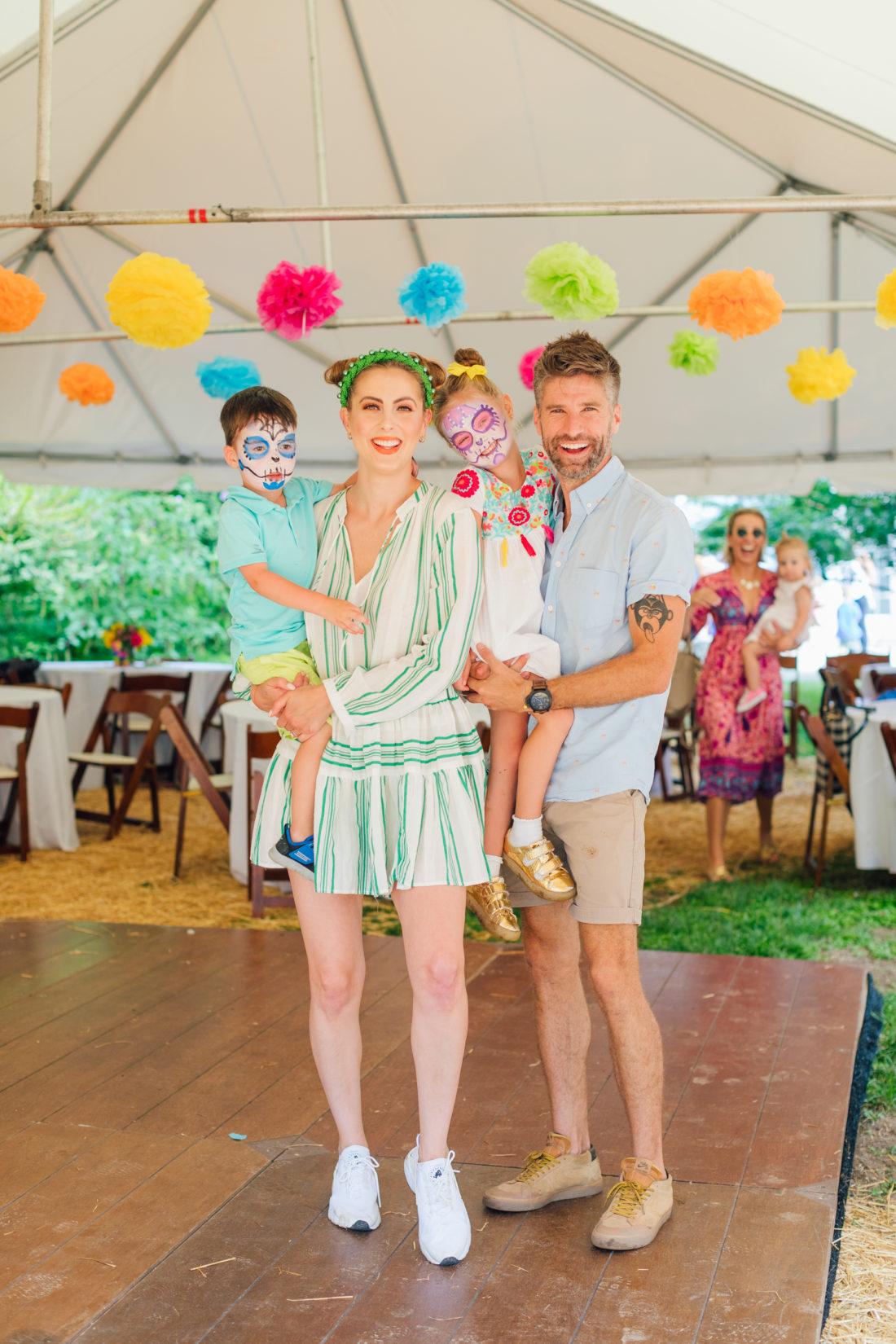 The Martino Family at daughter Marlowe's El Cinco de Marlowe themed 5th birthday fiesta
