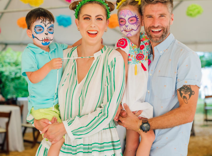 The Martino Family at daughter Marlowe's Cinco de Marlowe themed 5th birthday fiesta