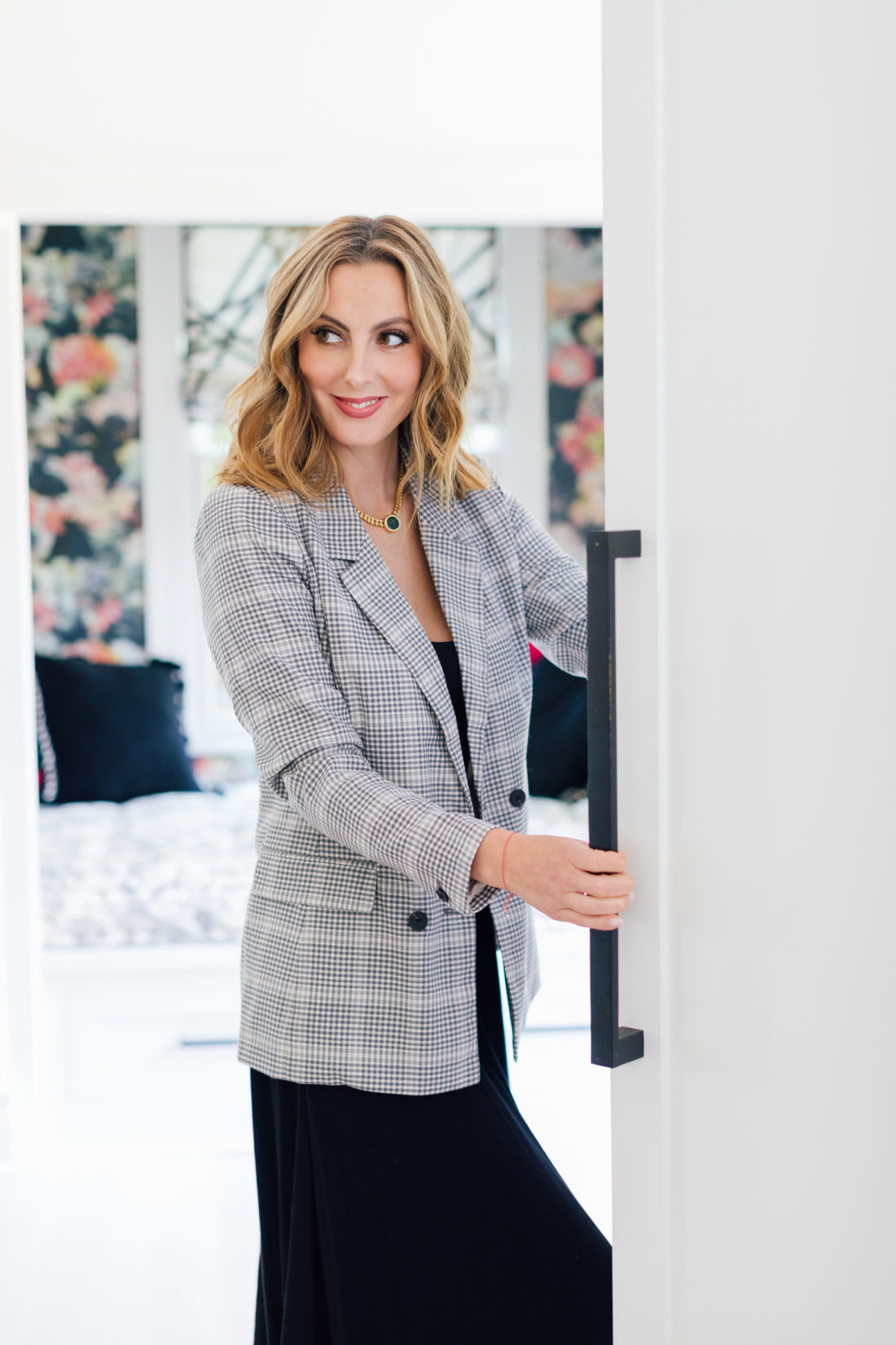 Eva Amurri Martino reaches into her fridge to make an easy lunchbox meal