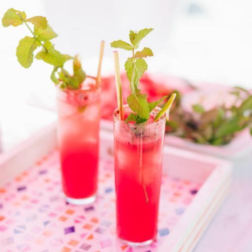 Eva Amurri Martino's Watermelon Mojitos