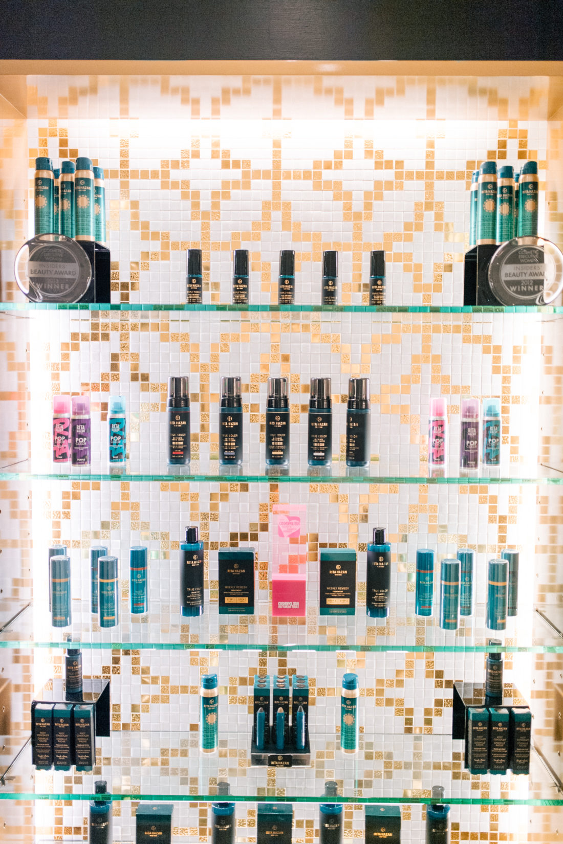 Rita Hazan's line of inclusive hair products for color-treated hair
