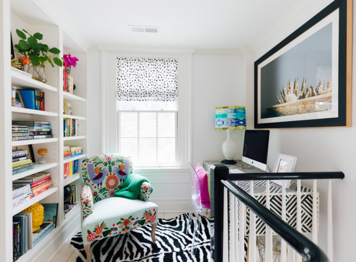 The Study Nook inside Eva Amurri Martino's Westport CT home
