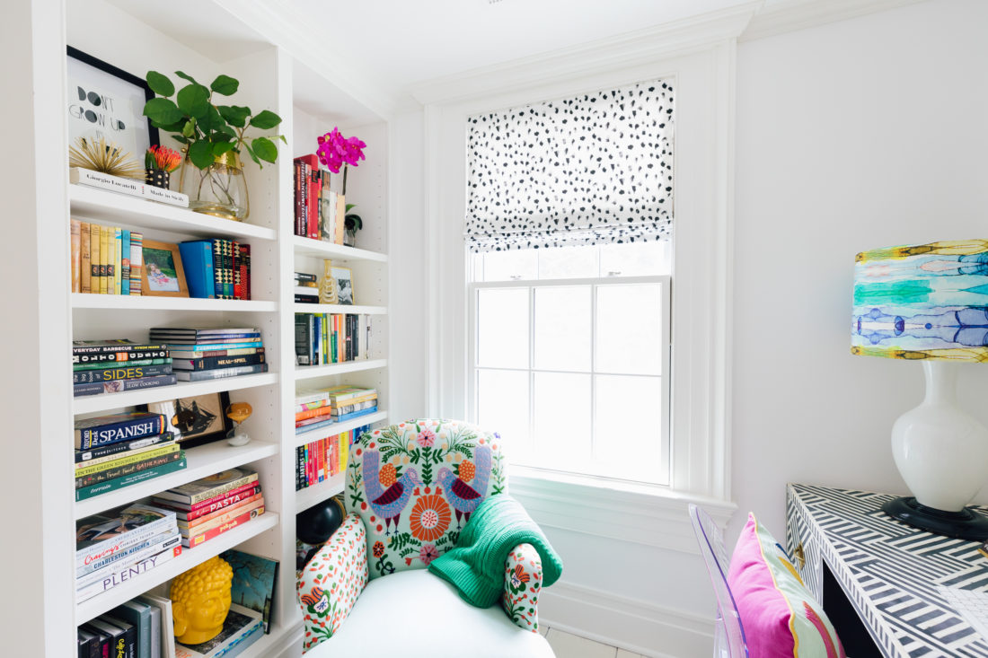 The Study Nook inside Eva Amurri Martino's Westport CT home