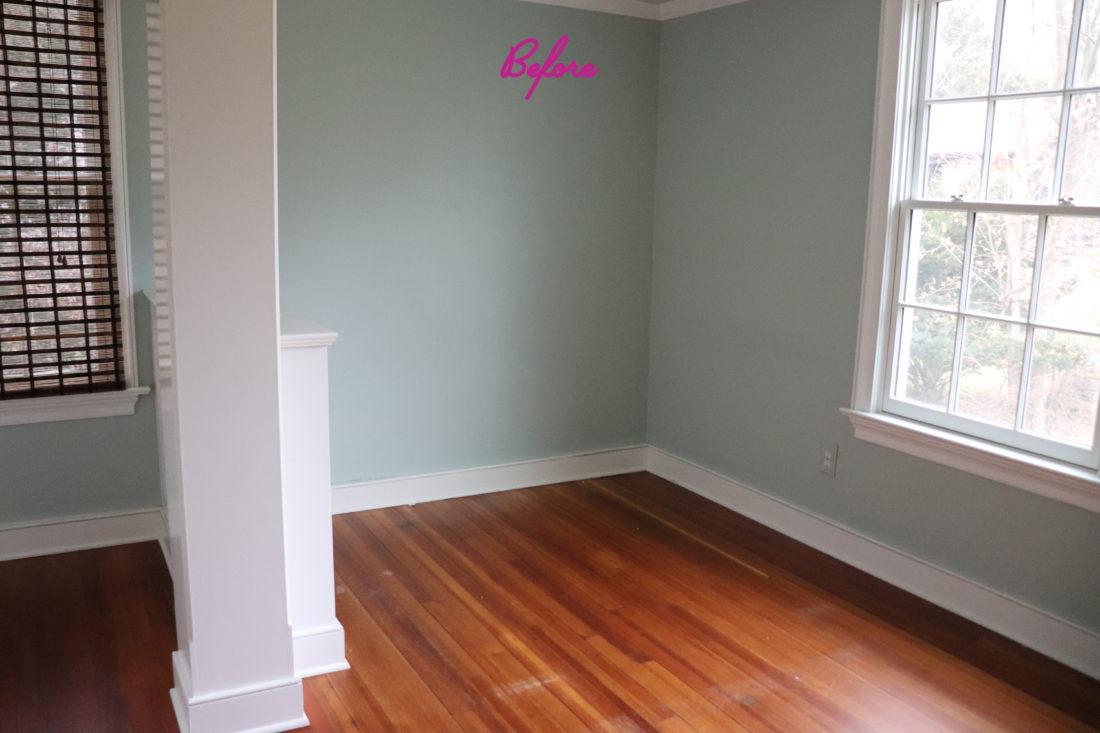 Marlowe Martino's bedroom before renovations