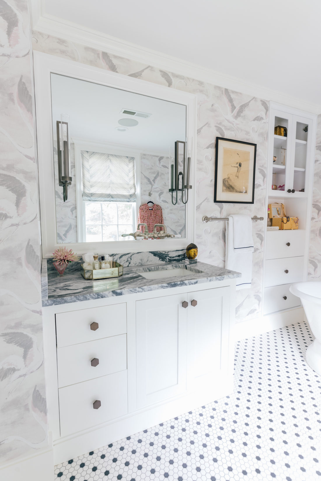 The sink in Eva Amurri Martino Master Bathroom