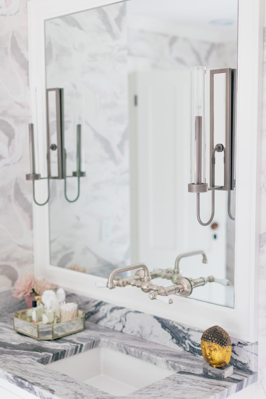 Sconces in Eva Amurri Martino Master Bathroom