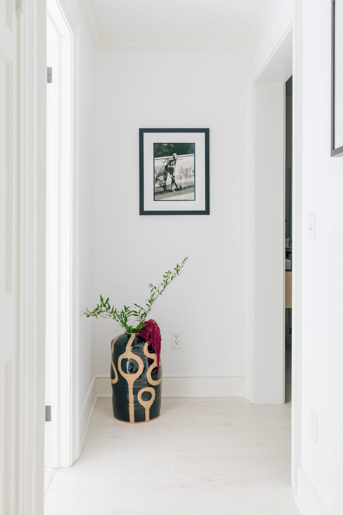 The hallway to Eva Amurri Martino's master bedroom suite
