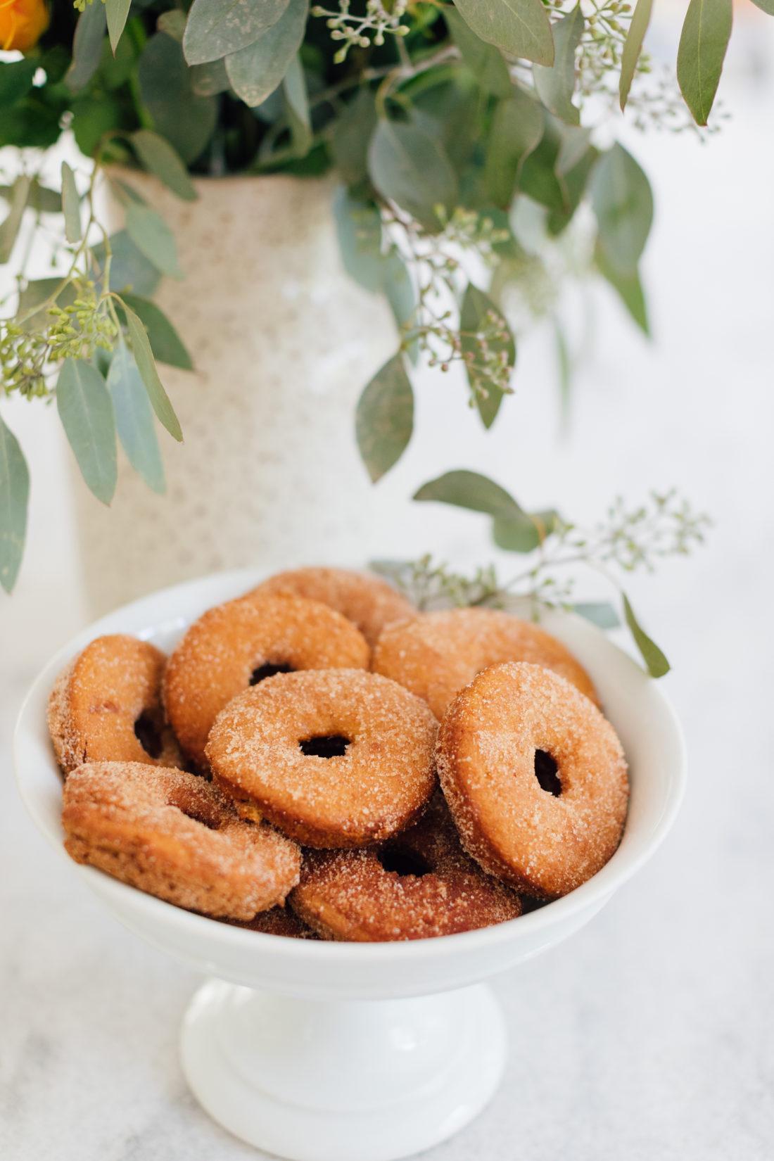 Eva Amurri Martino shares her recipe for delish baked apple cider donuts