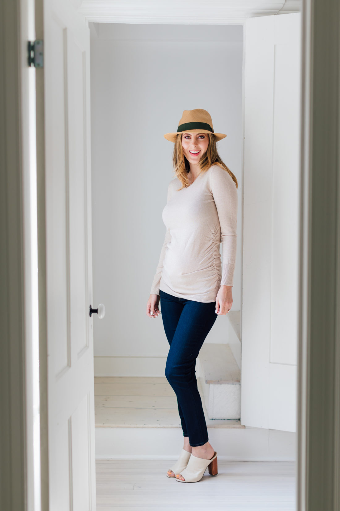 Pregnant Eva Amurri Martino gives her readers a first trimester update on her pregnancy.