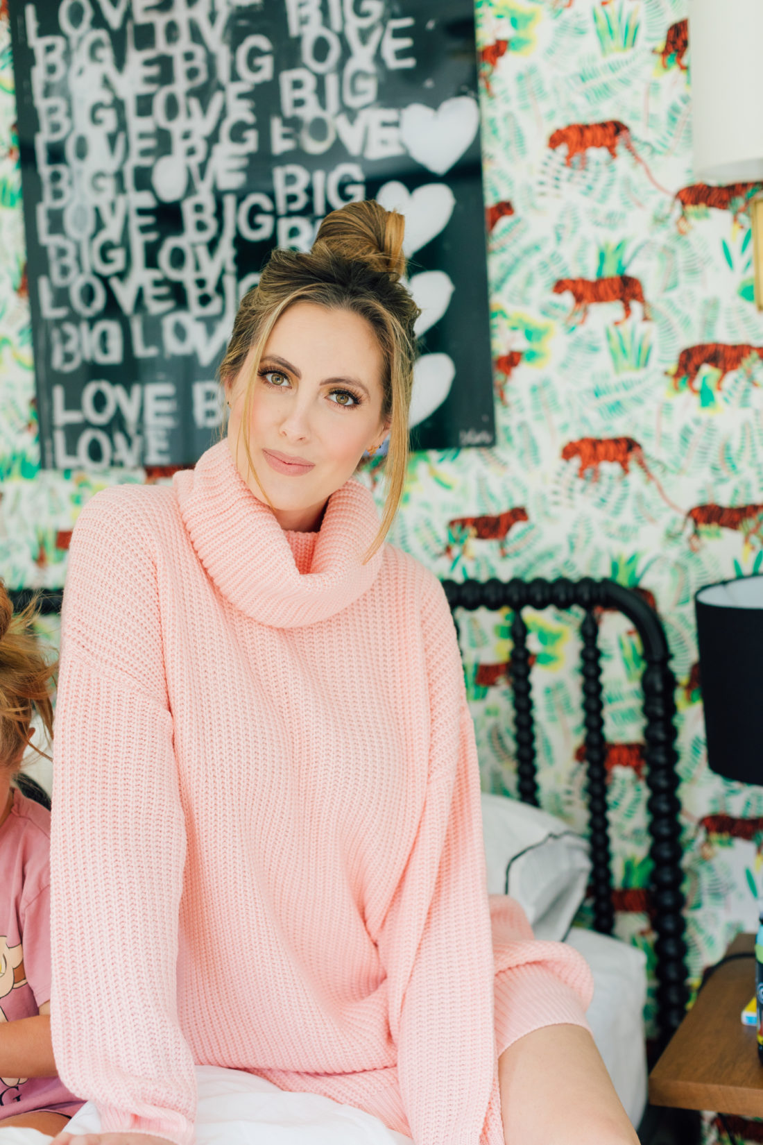 Eva Amurri Martino sits in son Major's bedroom with her kids Marlowe and Major and ponders where the new baby will sleep when he arrives