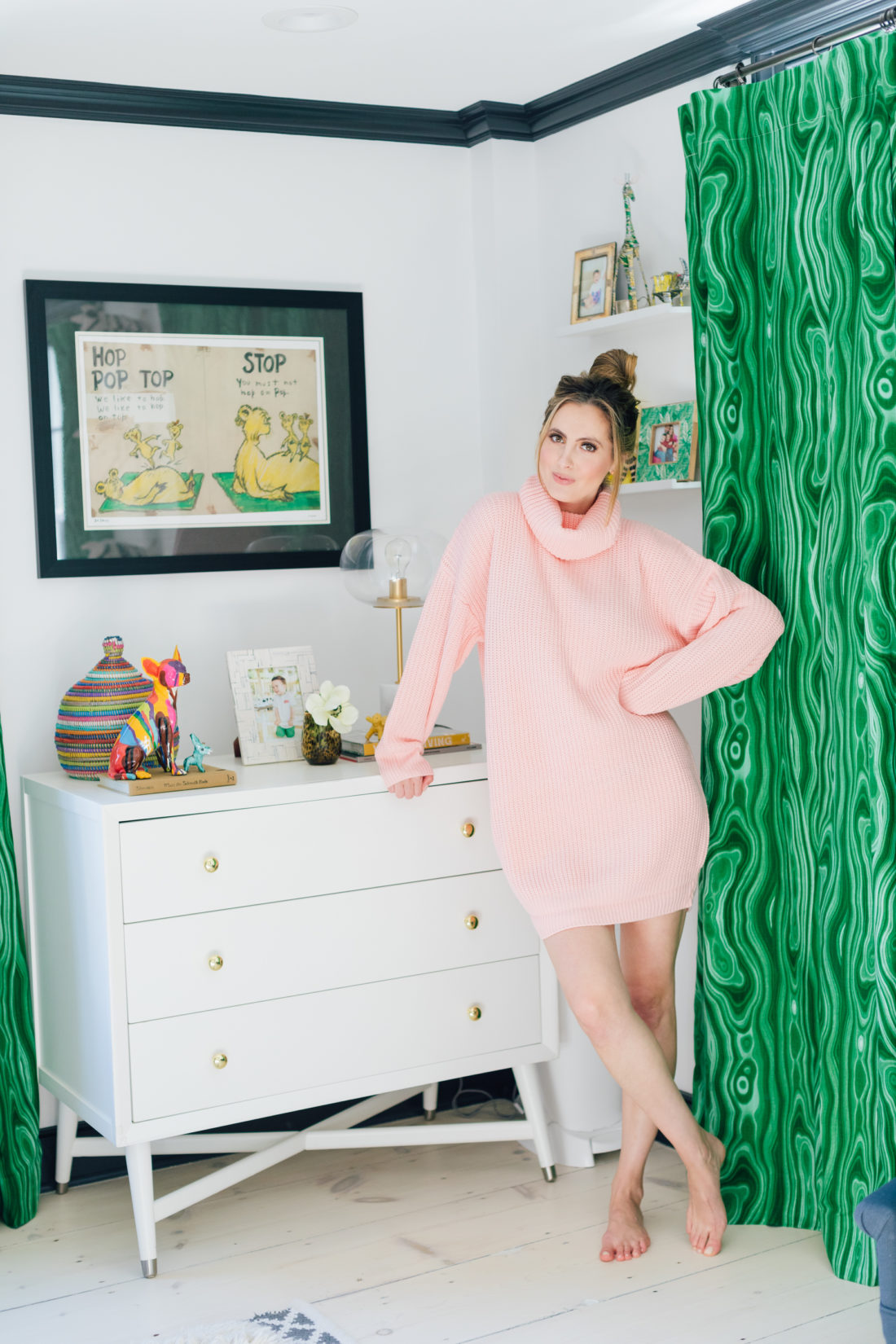 Eva Amurri Martino stands in son Major's bedroom and ponders where the new baby will sleep when he arrives