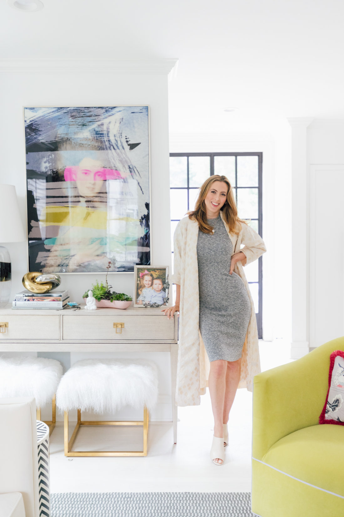 Eva Amurri Martino unveils her brand new living room