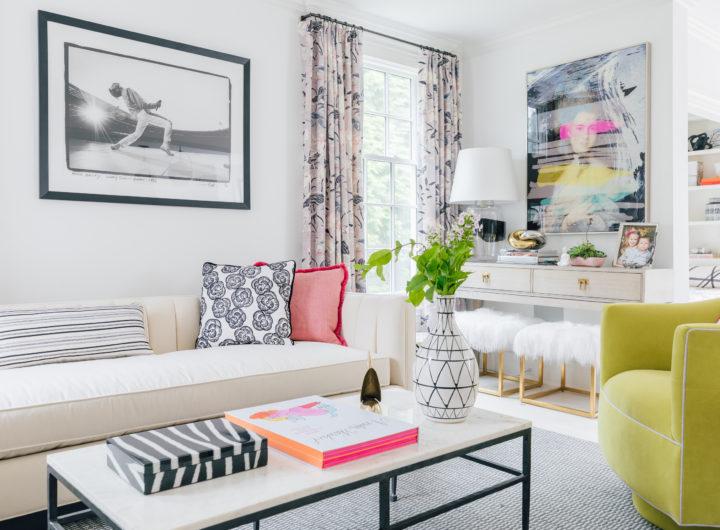 Eva Amurri Martino unveils her brand new living room