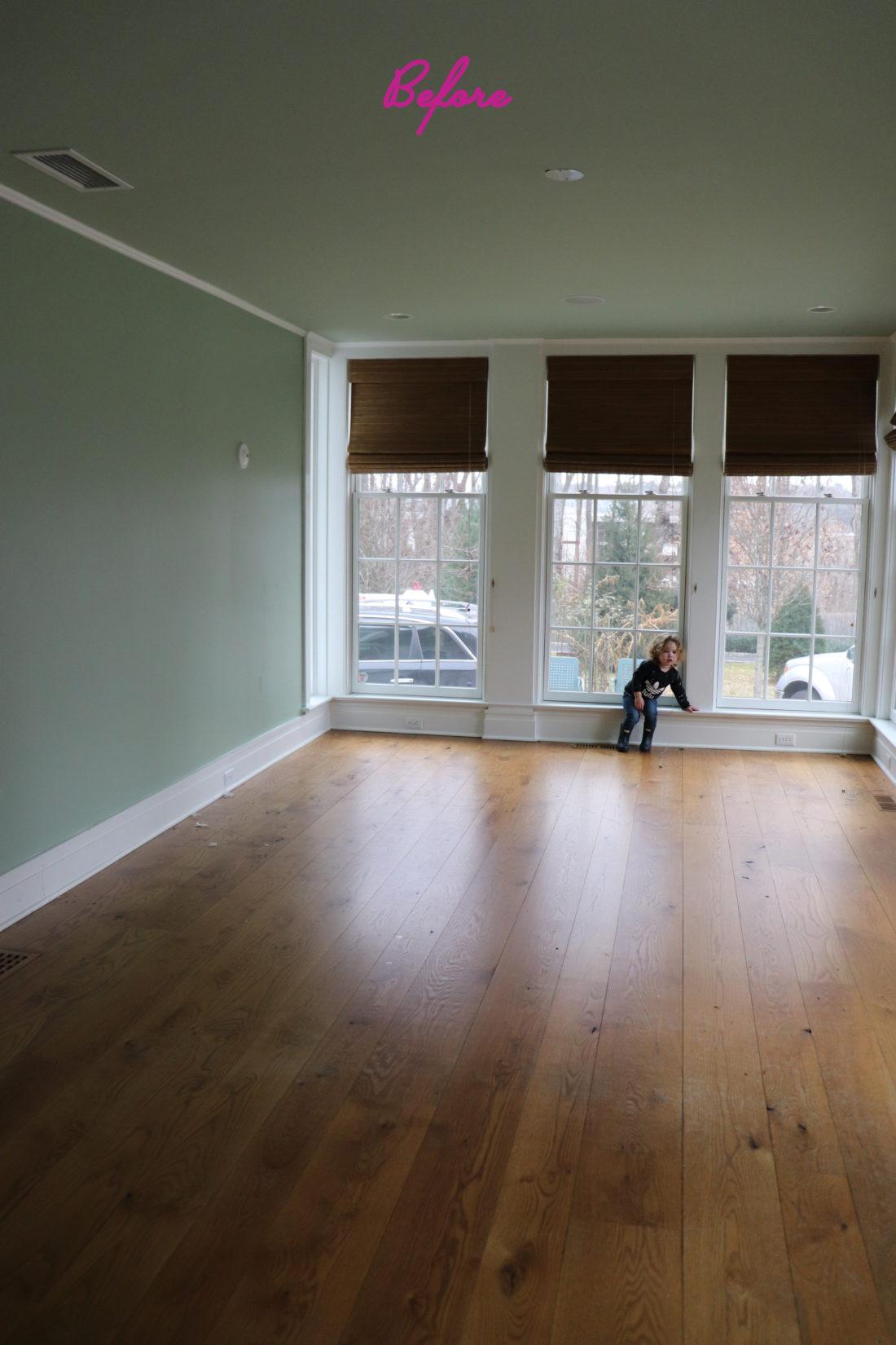 the before image of Eva Amurri Martino's dining room