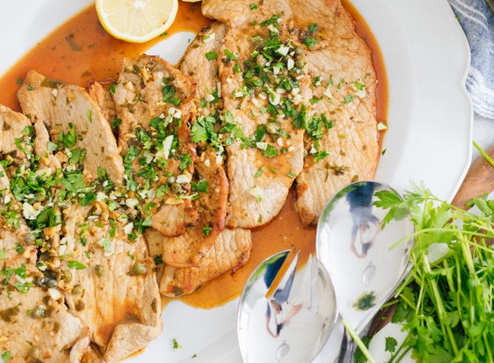Eva Amurri Martino's recipe for Veal Scaloppini