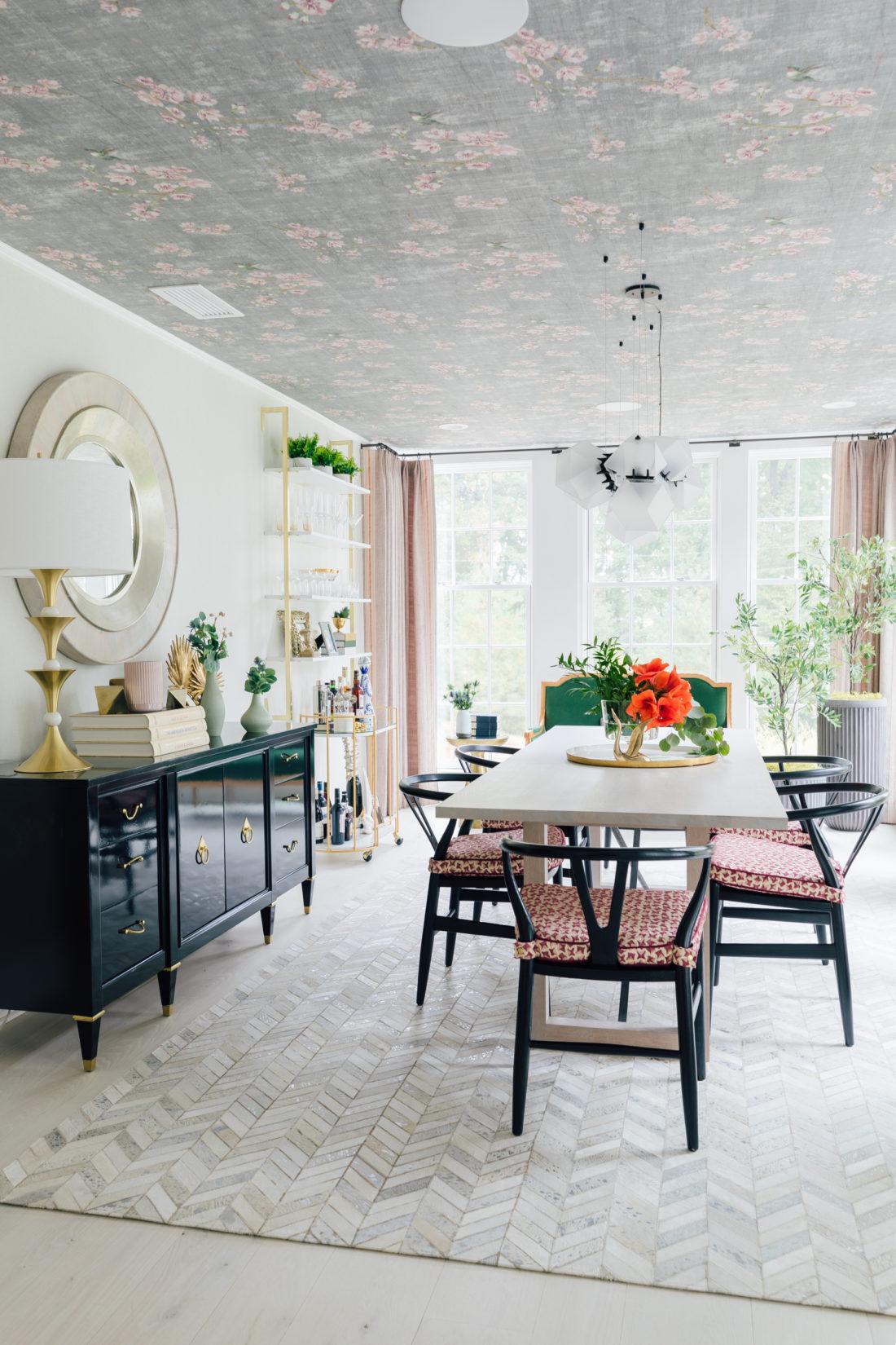 Eva Amurri Martino's newly renovated dining room