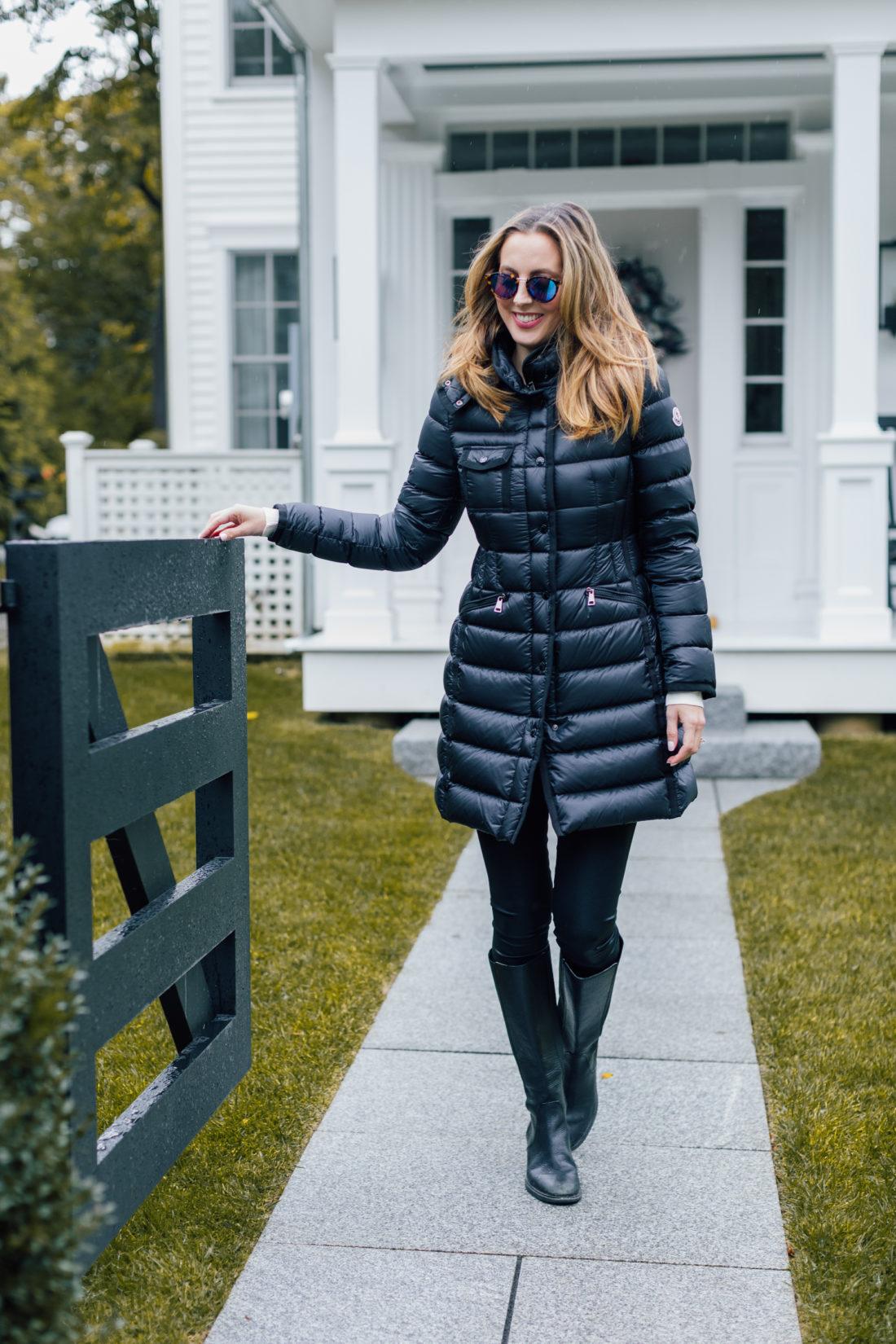 Eva Amurri Martino wears a pricey Moncler winter coat