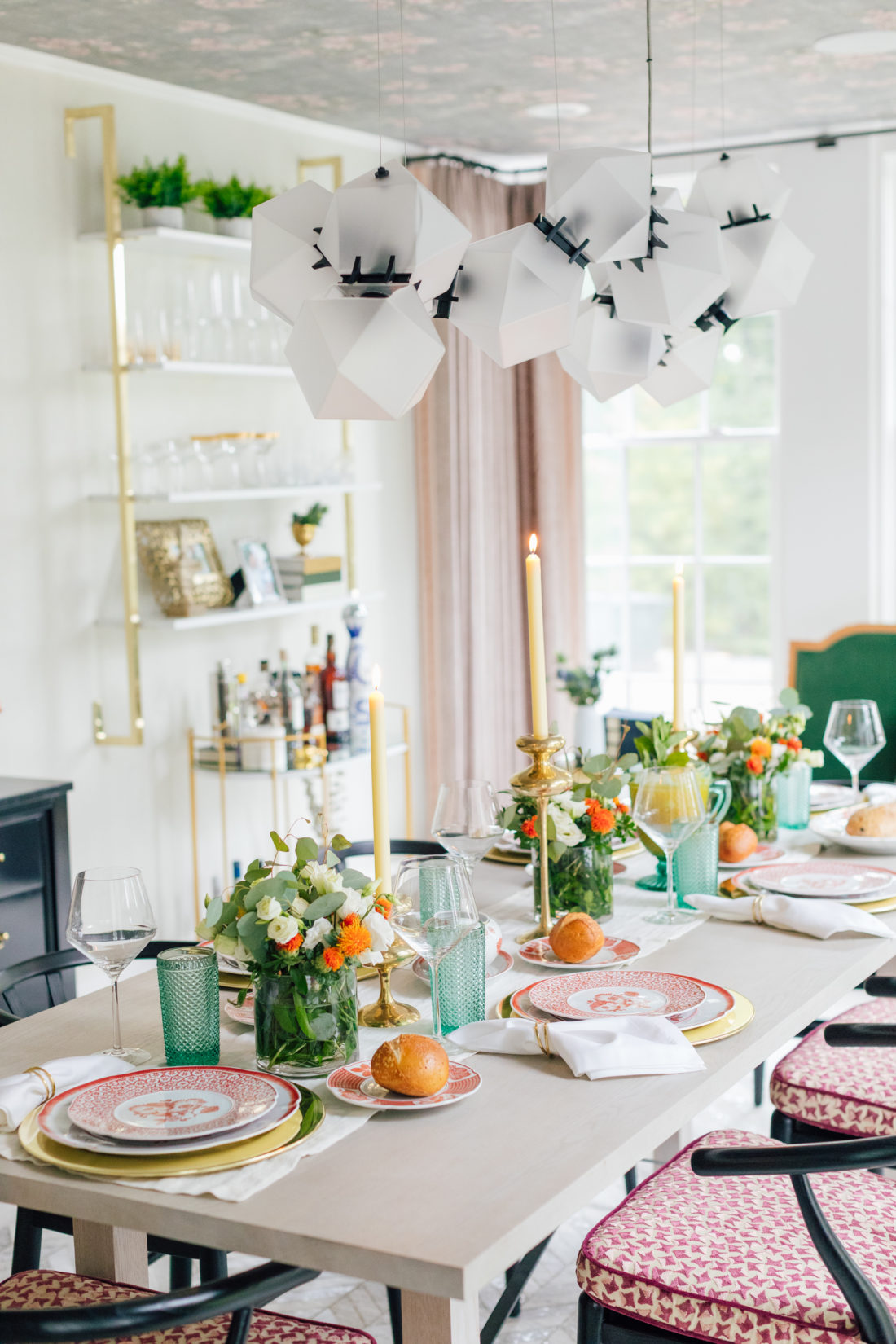 Eva Amurri Martino's 2019 Thanksgiving Table Decor