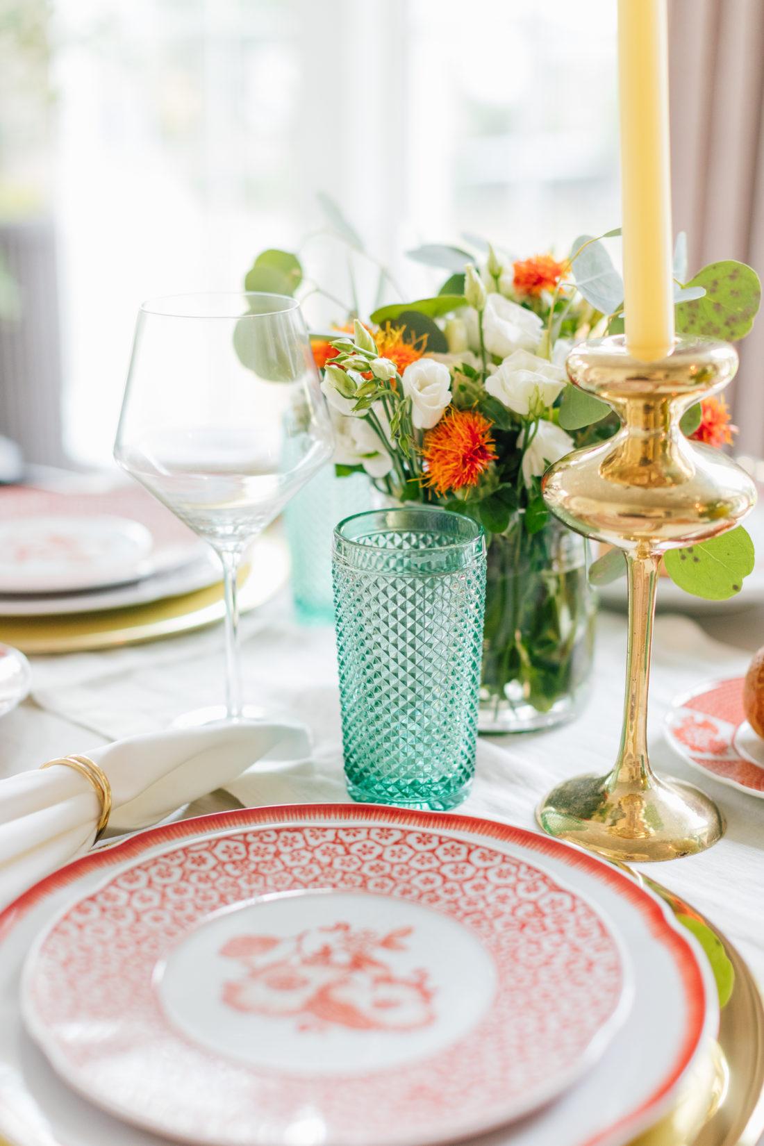The decor details on Eva Amurri Martino's 2019 Thanksgiving Table