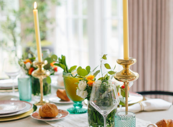 The decor details on Eva Amurri Martino's 2019 Thanksgiving Table