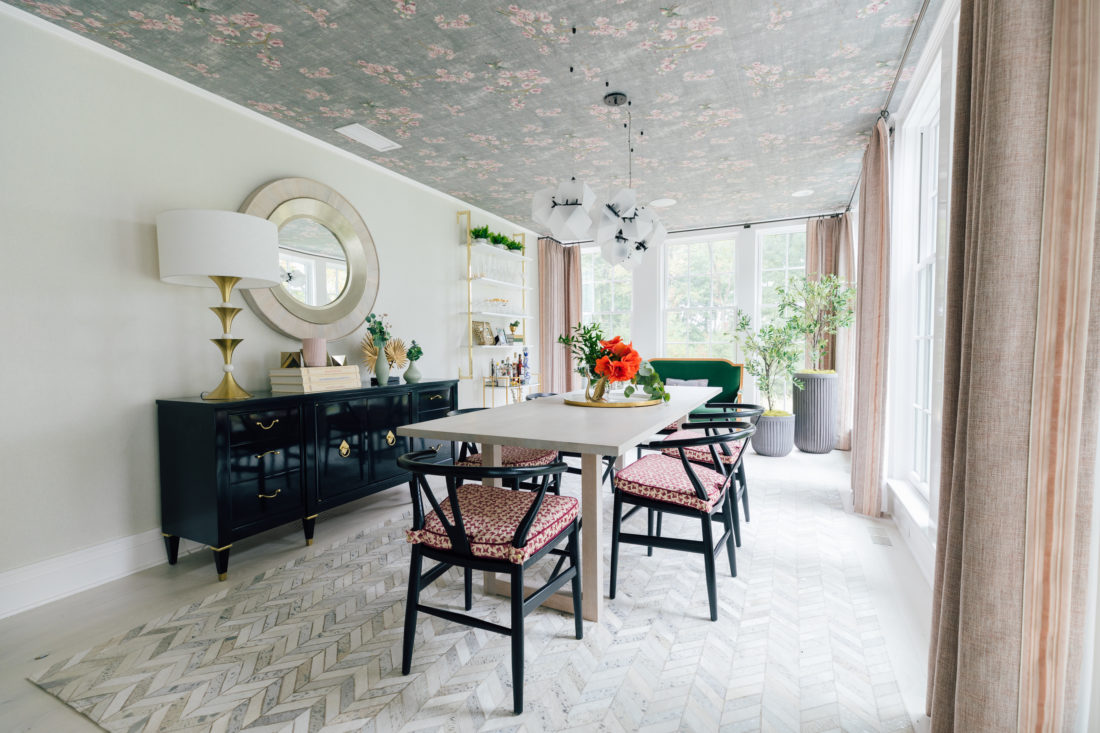 Eva Amurri Martino's newly renovated dining room