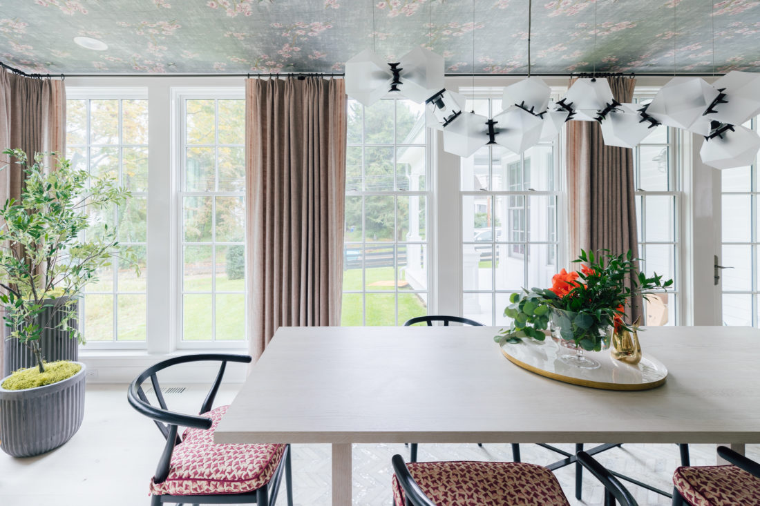 Inside Eva Amurri Martino's newly renovated dining room