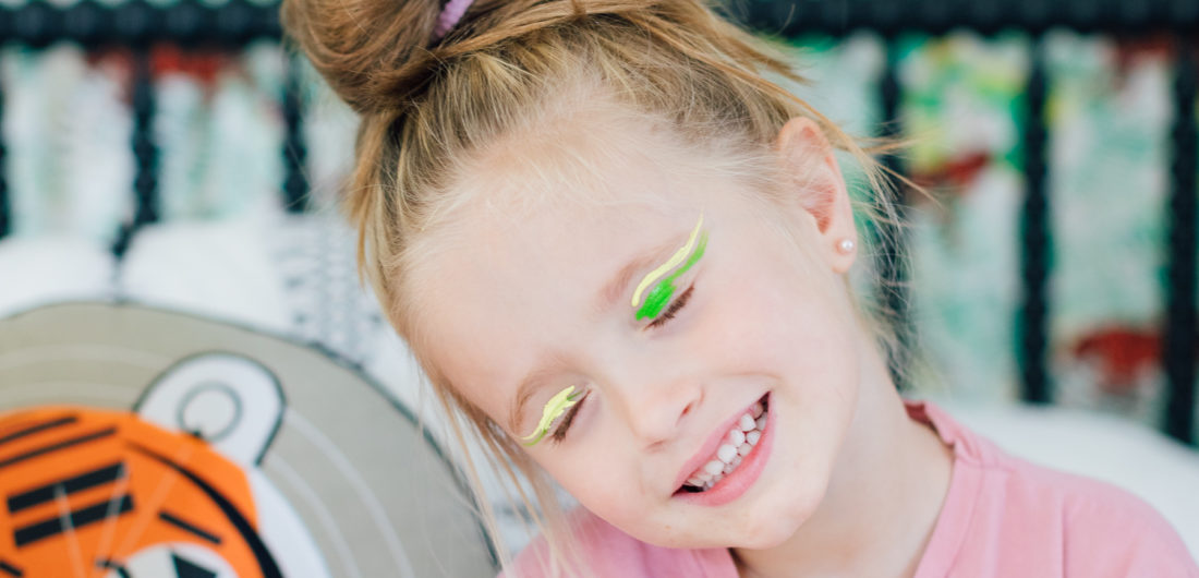 Marlowe Martino rocks some Neon Eyeliner
