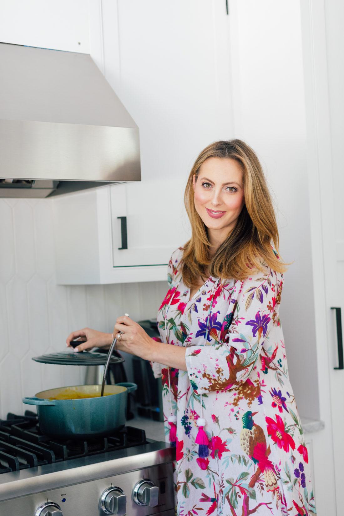 Eva Amurri Martino makes the easiest pumpkin soup ever