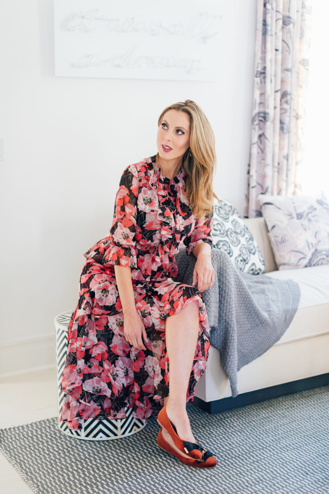 Eva Amurri Martino wears a gorgeous Misa Alanis dress from Verishop