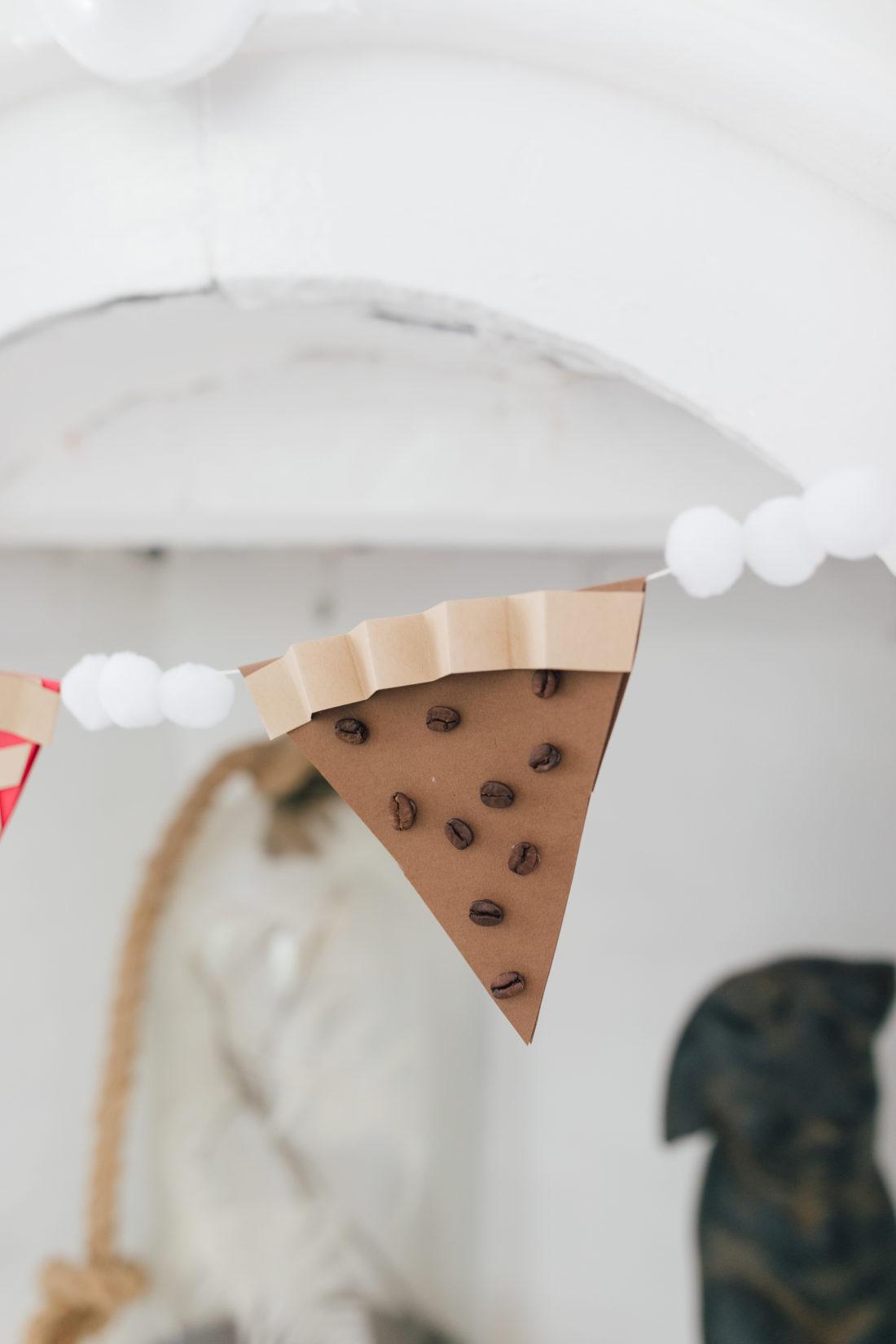 Eva Amurri Martino shares an easy autumnal decor DIY pie garland
