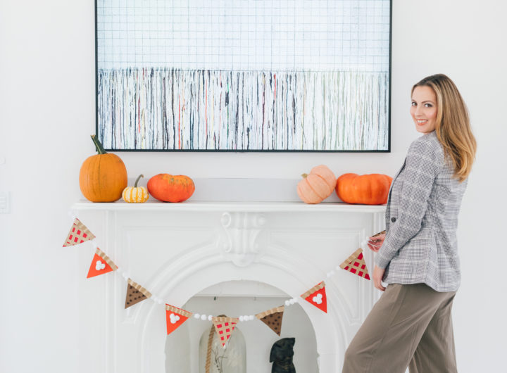 Eva Amurri Martino shares an easy autumnal decor DIY