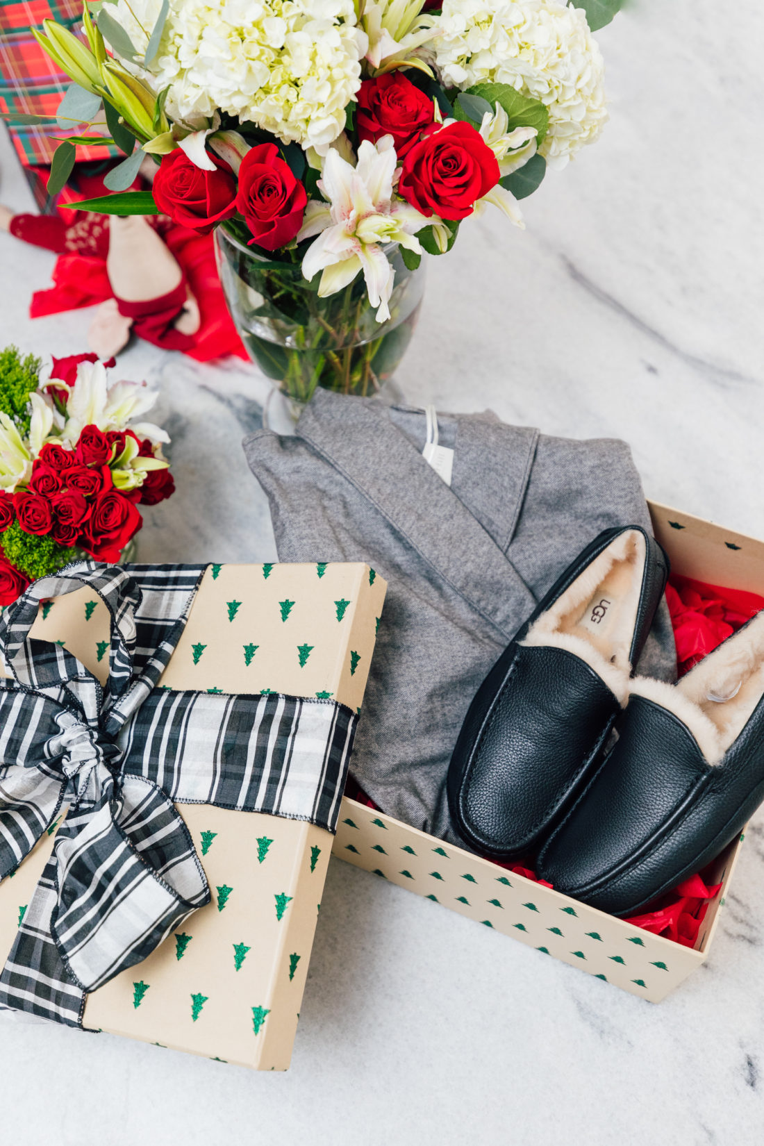 Eva Amurri Martino shares her favorite gifts from Garnet Hill, including this robe and slippers for her ex-husband Kyle