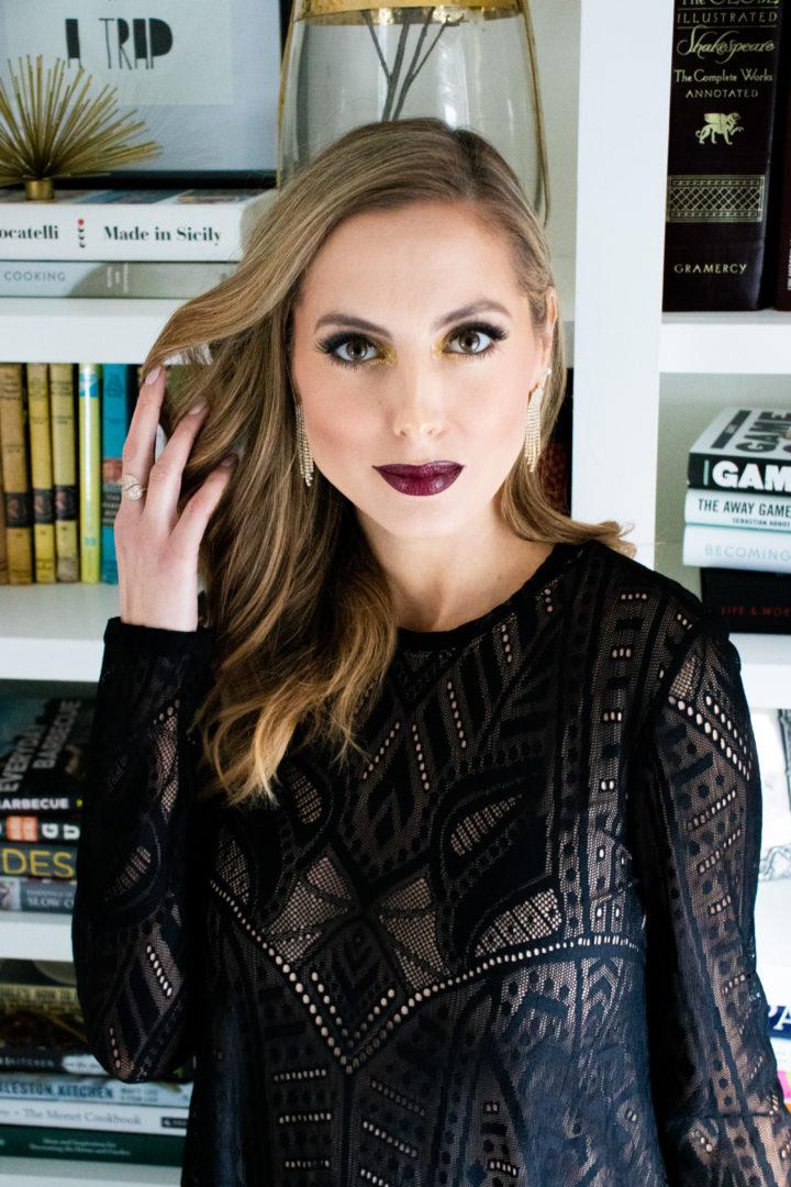 Eva Amurri shares a holiday makeup tutorial