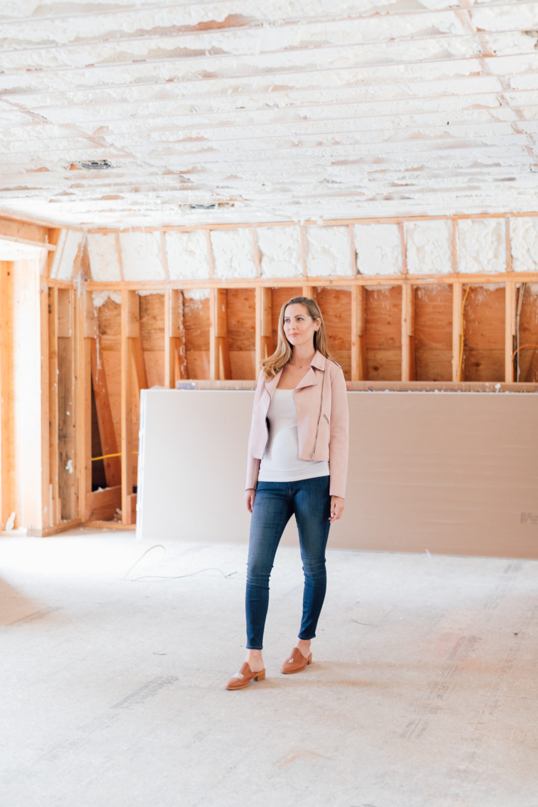 Eva Amurri shares an update on the construction of her home addition