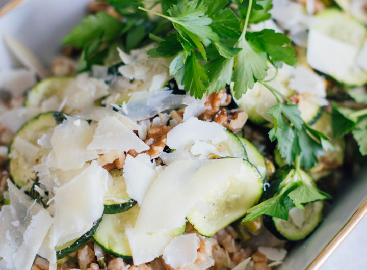 Eva Amurri shares a healthy veggie risotto recipe