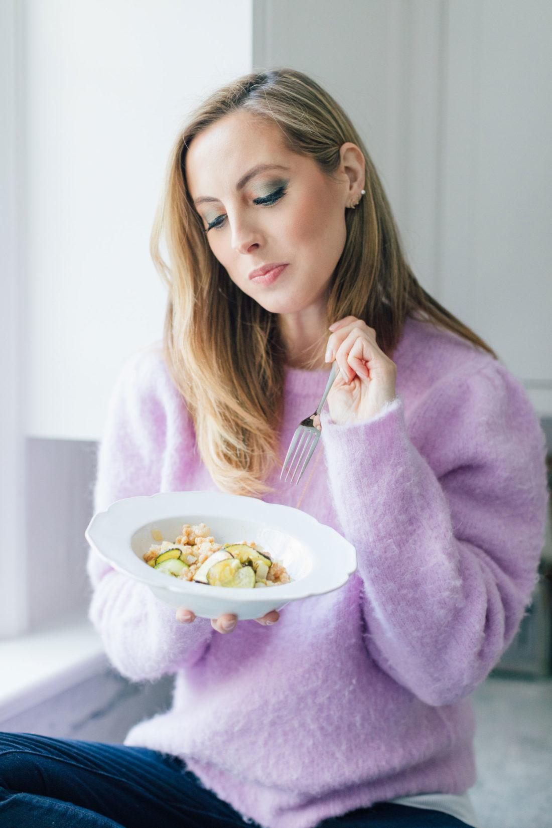 Eva Amurri shares a healthy veggie risotto recipe