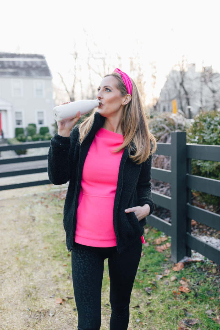 Eva Amurri discusses how she's staying healthy during her 3rd pregnancy