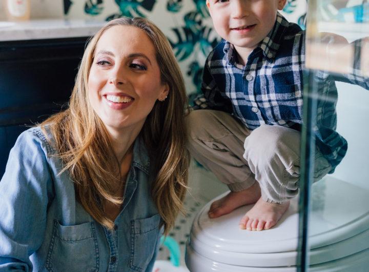 Blogger Eva Amurri discusses potty training regression