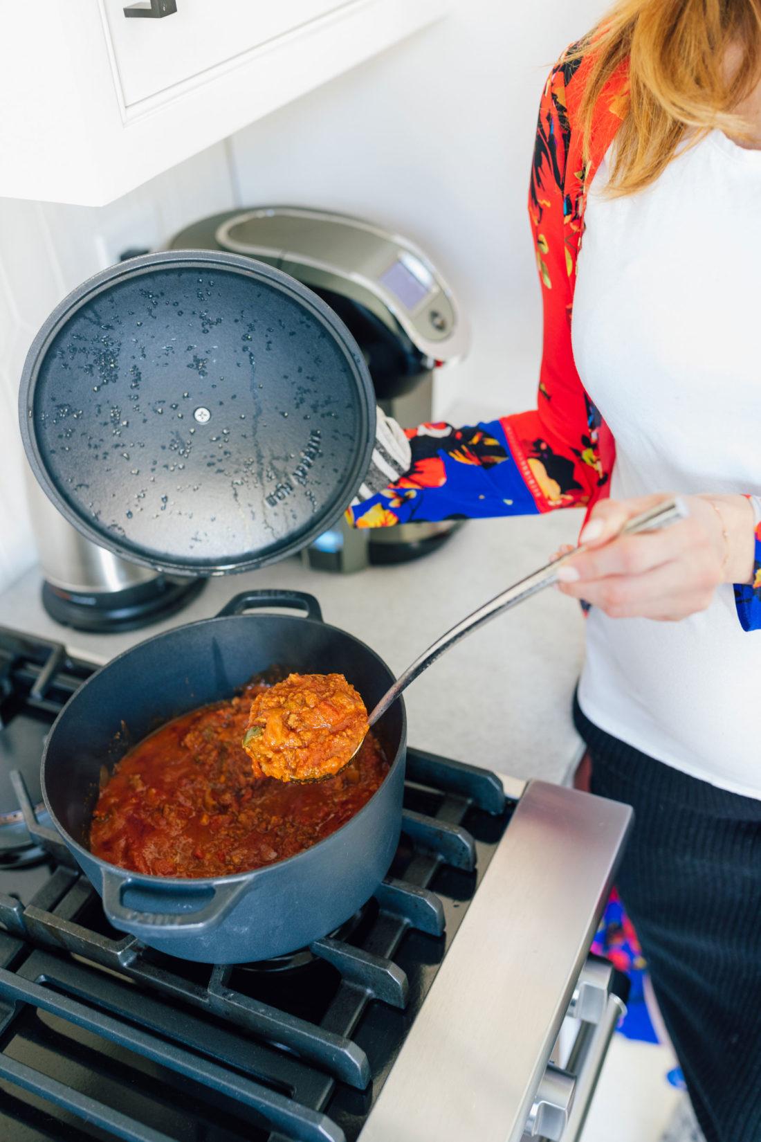 Blogger Eva Amurri shares her go-to chili recipe