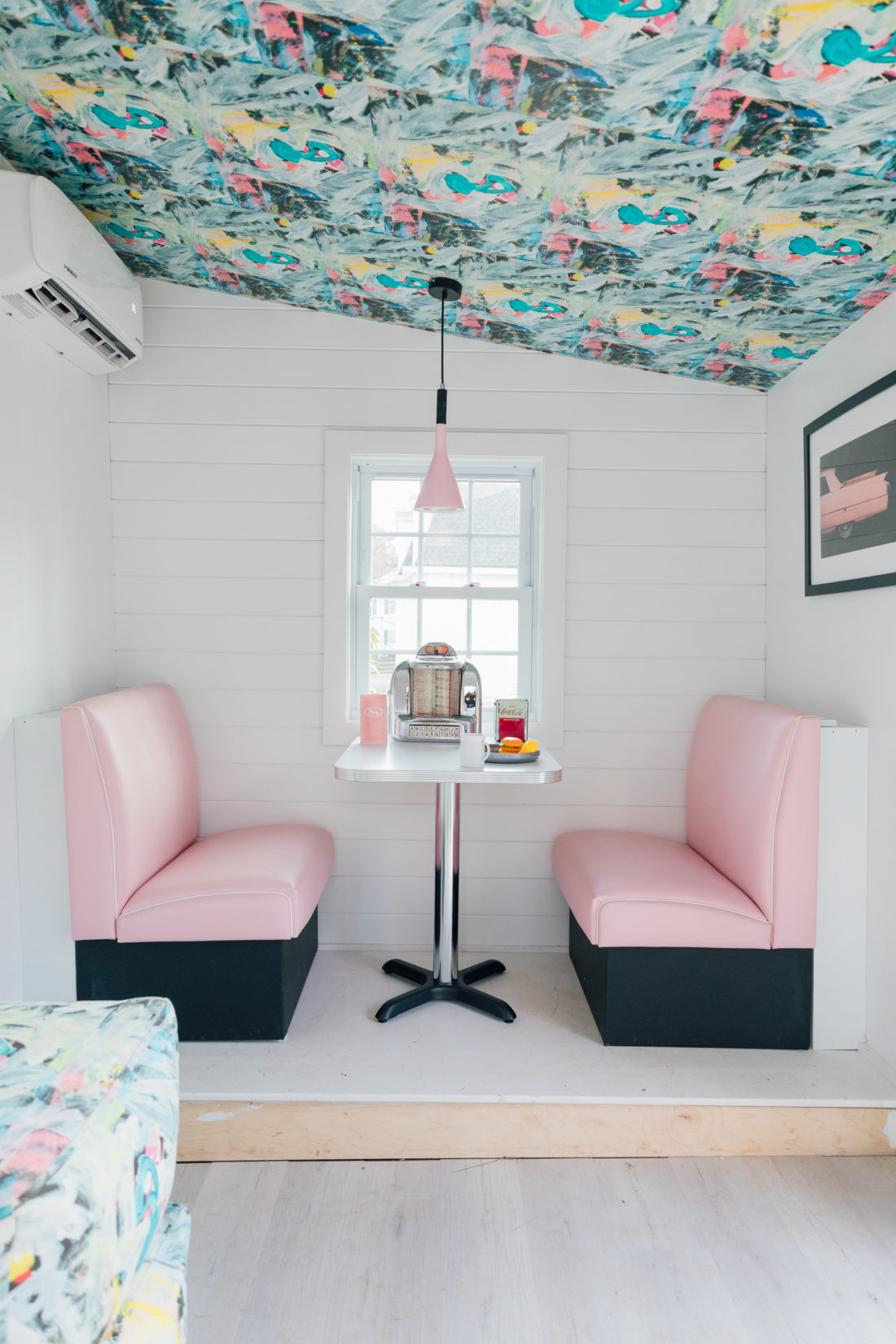 Eva Amurri unveils Jimmy Mae's Diner, the adorable playhouse she built for her kids on her Connecticut property