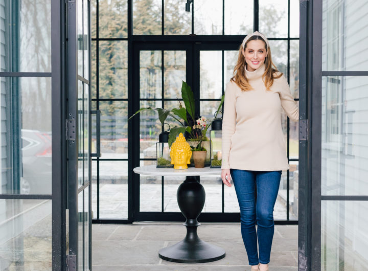 Blogger Eva Amurri's completed Breezeway reveal