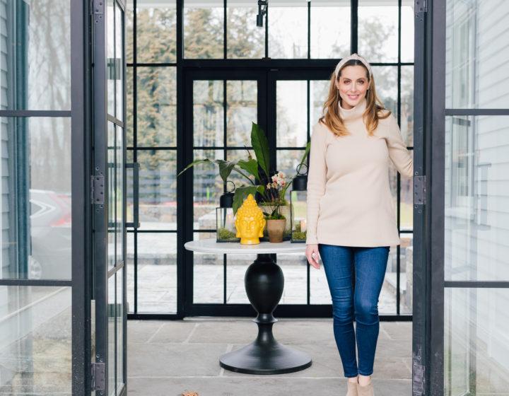 Blogger Eva Amurri's completed Breezeway reveal