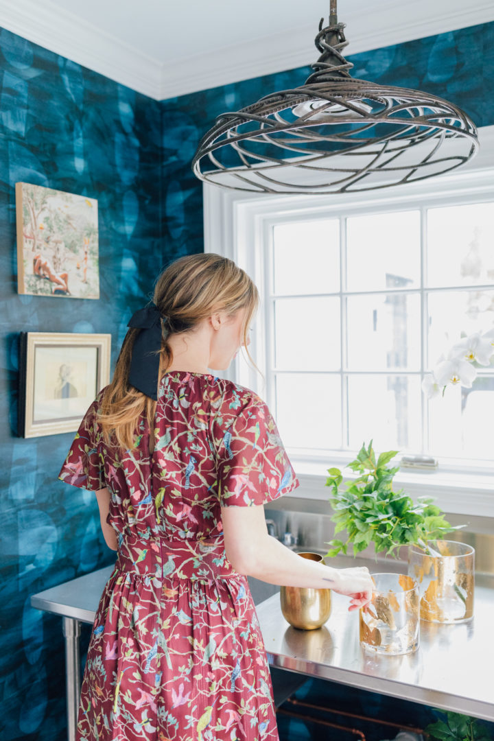 Blogger Eva Amurri unveils her renovated cutting room